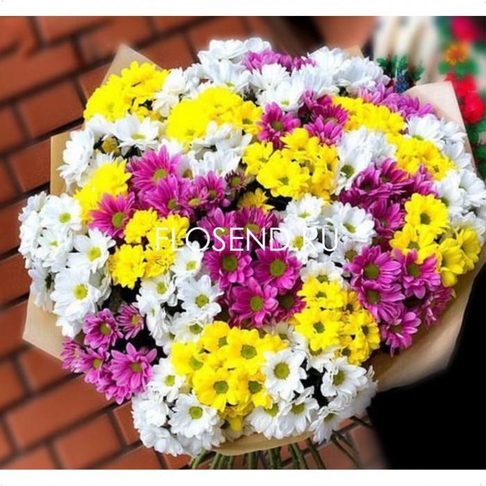 Цветы в коробке № 249