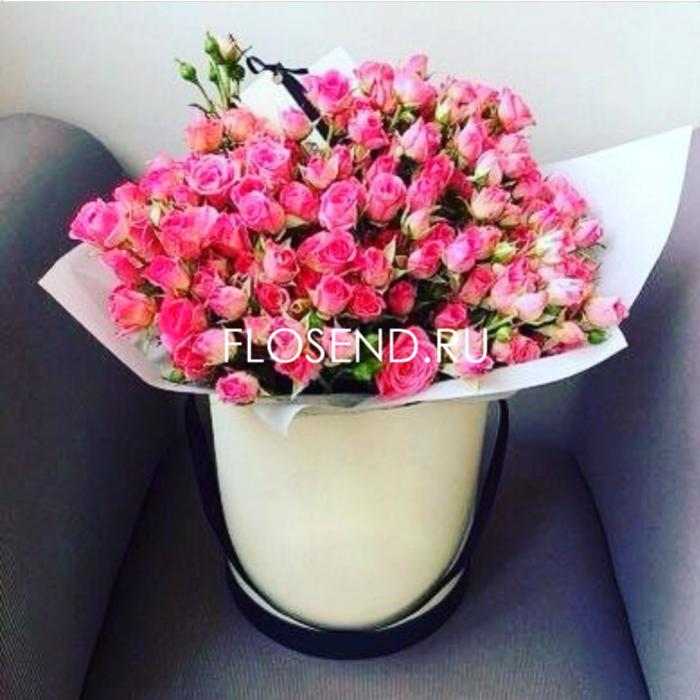 Цветы в коробке № 162